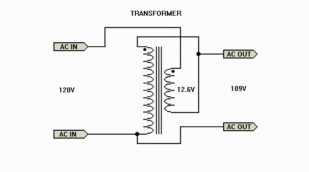 Is VTA 120 in need of Step down or bucking transformer? Auto_xfmr